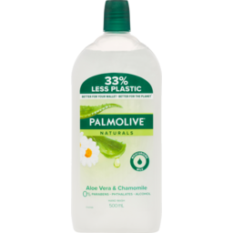 Photo of Palmolive Naturals Liquid Hand Wash Softening Aloe Vera With Camomile Refill 500ml