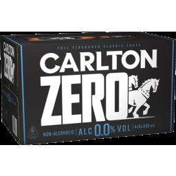 Photo of Carlton Zero Bottles