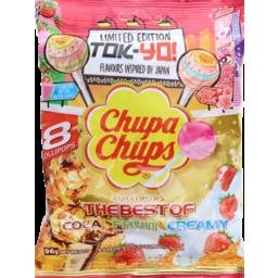 Photo of Chupa Chups The Best Of Lollipops 8u Bag 96g