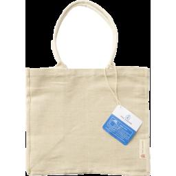 Photo of Tote Bag - Eddie (Jute / Organic Cotton)