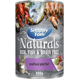 Photo of Snappy Tom Omega 3 Seafood Platter 400g