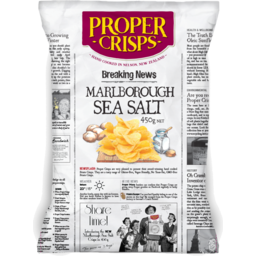 Photo of Proper Crisps Sea Salt 450g