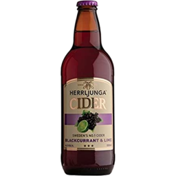 Photo of Herrljunga Blackcurrant & Lime Cider 500ml