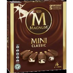 Photo of Magnum Mini Ice Cream Classic 6 Pack 360ml