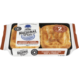 Photo of Nat Clsc Beef/Cheese Pies 360g 2pk