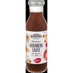 Photo of Barkers Sauce Habañero Hot 310g