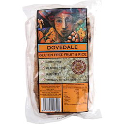 Photo of Dovedale Gluten Free Organic Bread Fruit & Rice 640g