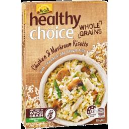 Photo of Mccain Healthy Choice Whole Grain Chicken & Mushroom Risotto 350gm