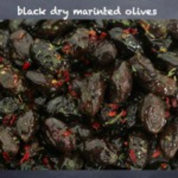 Photo of Gs Marinated Dry Black Olives 220g