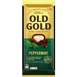 Photo of Cadbury Old Gold Dark Chocolate Peppermint 180g