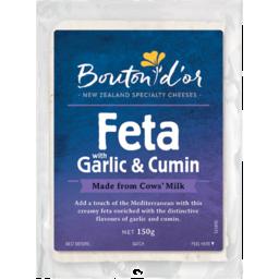 Photo of Bouton D'or Cheese Feta Garlic & Cumin 150g