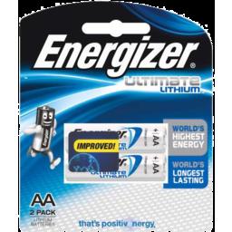 Photo of Energizer Lithium E2 Aa 2pk