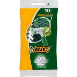 Photo of Bic Sensitive Shaver 10pk