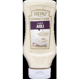 Photo of Heinz® [Seriously] Good™ Garlic Aioli 500ml