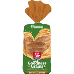 Photo of Bread Goodness Grains Original Swiss Toast Tip-Top 700g