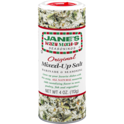 Photo of Janes Crazy Mixed Up Salt 113g