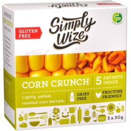 Photo of Simply Wize Corn Crunch 5 X 30g