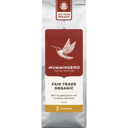 Photo of Hummingbird Organic Coffee Plunger 200g