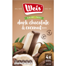 Photo of Weis Rg Fg Dark Choc Coconut 4pk