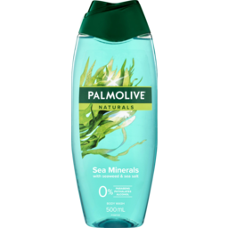 Photo of Palmolive Naturals Shower Gel With Moisture Reservoirs & Sea Minerals Hydrating