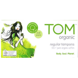 Photo of Tom Org Tampons Reg 16pk