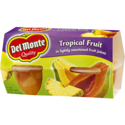 Photo of Del Monte Tropical Fruit In Lightly Sweetened Fruit Juices - 4 Ct