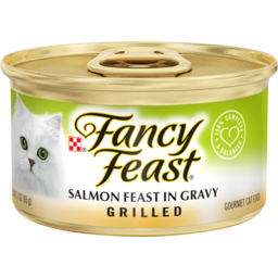 Photo of Fancy Feast Cat Food Salmon Feast In Gravy Grilled 85g