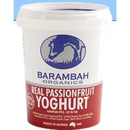 Photo of Barambah Real Passionfruit Organic Yoghurt 500g