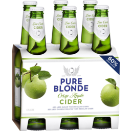 Photo of Pure Blonde Crisp Apple Cider Bottles
