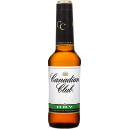 Photo of Canadian Club and Dry Bottle