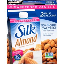Photo of Silk Almond Unsweetend Vanilla