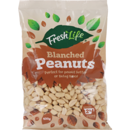 Photo of Fresh Life Peanuts Blanched 400g