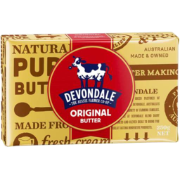 Photo of Devondale Salted Butter Block 250gm