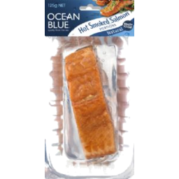 Photo of Ocean Blue Hot Smoked Salmon Natural 125g