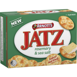 Photo of Arnott's Jatz Crackers Rosemary & Sea Salt 225g