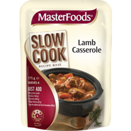 Photo of Masterfoods Lamb Casserole Slow Cook Recipe Base 175g