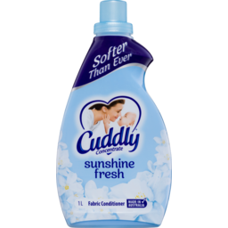 Photo of Cuddly Ultra Sunshine Fresh Fabric Conditioner 1