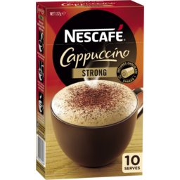 Photo of Nescafe Coffee Cappuccino Strong (10pk)