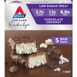 Photo of Atkins Endulge Chocolate Coconut Bars 5pk
