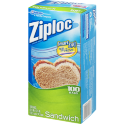 Photo of Ziploc Sandwich Bag 100s