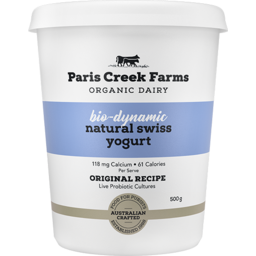 Photo of Paris Creek Bio-Dynamic Natural Swiss Yoghurt