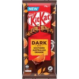 Photo of Kit Kat Dark Orange Block 170gm