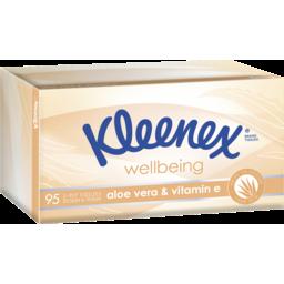 Photo of Kleenex Facial Tissue Aloe Vera 95pk