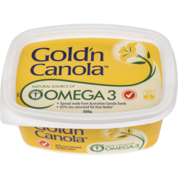 Photo of Gold'n Canola Omega 3 Spread Margarine 500gm