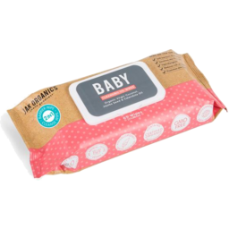 Photo of Jak Organic Baby Cleanse Wipes Oil 65pk