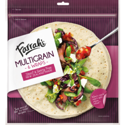 Photo of Wraps Farrah's Multigrain 6 Pack