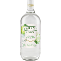 Photo of Smirnoff Infusions Cucumber Lime & Mint