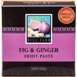 Photo of Hill Farm Paste Fig & Ginger 100gm