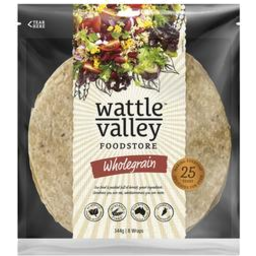 Photo of Wattle Valley Soft Wraps Wholegrain 344gm