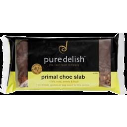 Photo of Pure Delish Primal Slab Chocolate 450g